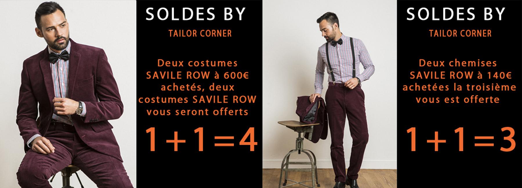 chemise sur mesure Tailor Corner