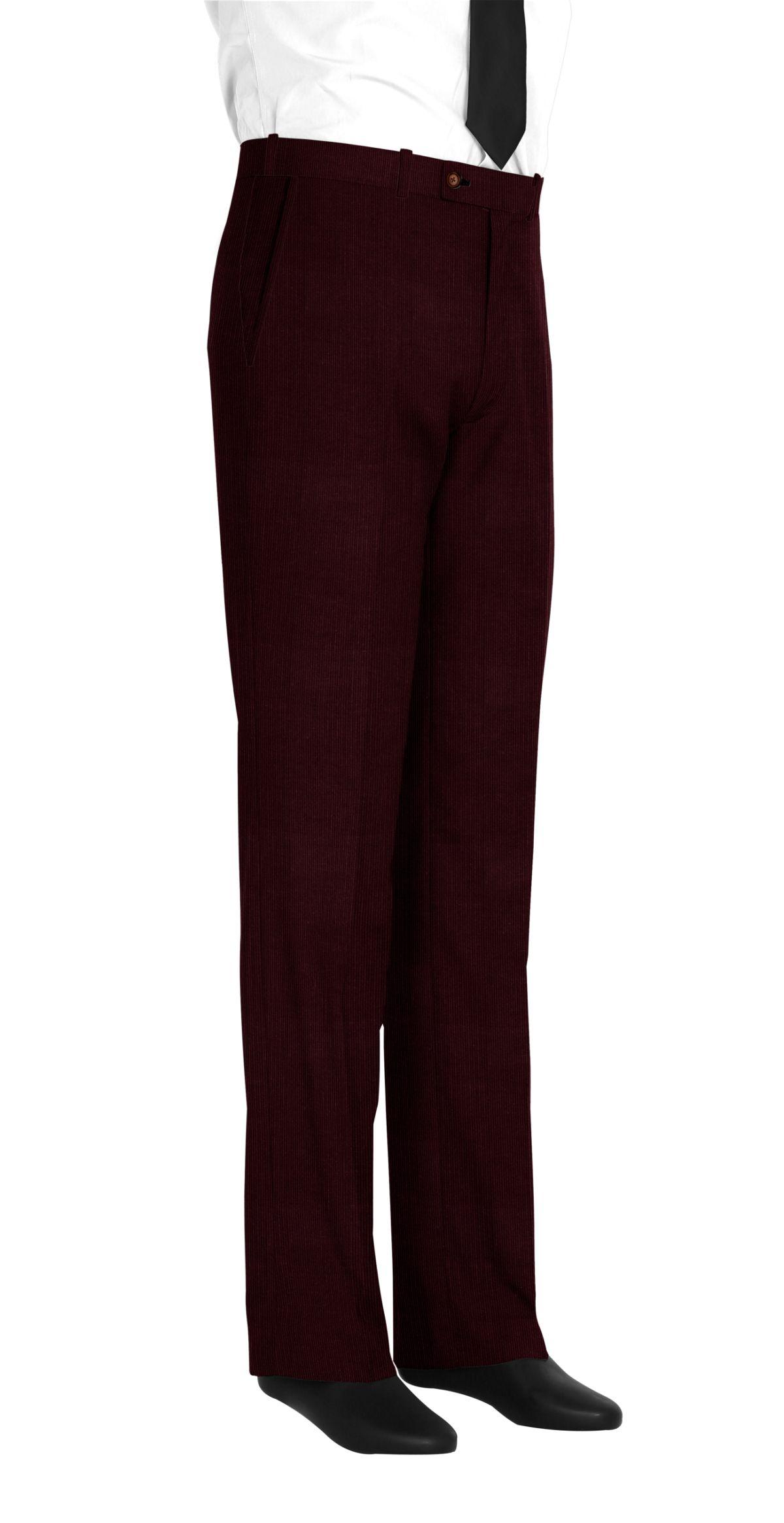 pantalon homme rouge uni tailor corner. Black Bedroom Furniture Sets. Home Design Ideas