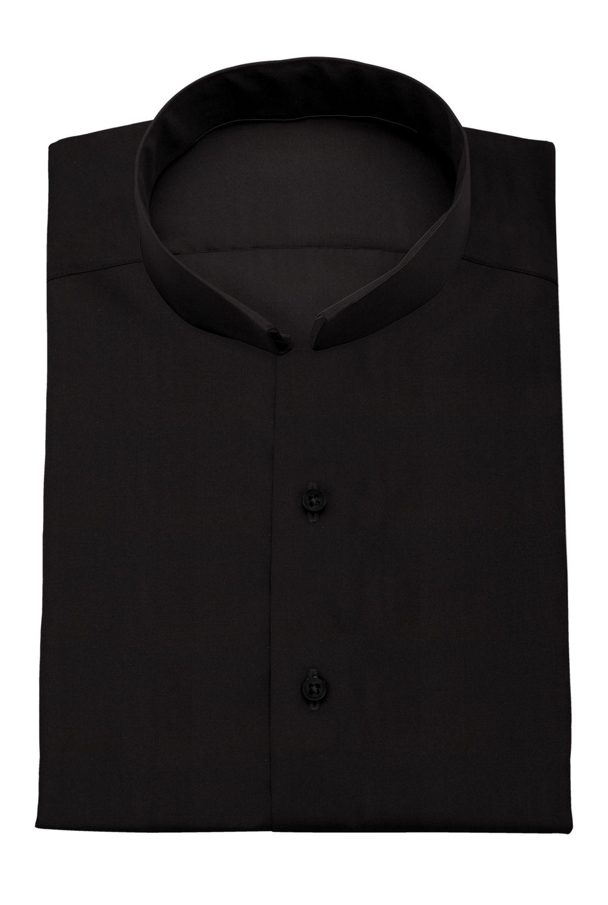 chemise homme noir uni tailor corner. Black Bedroom Furniture Sets. Home Design Ideas