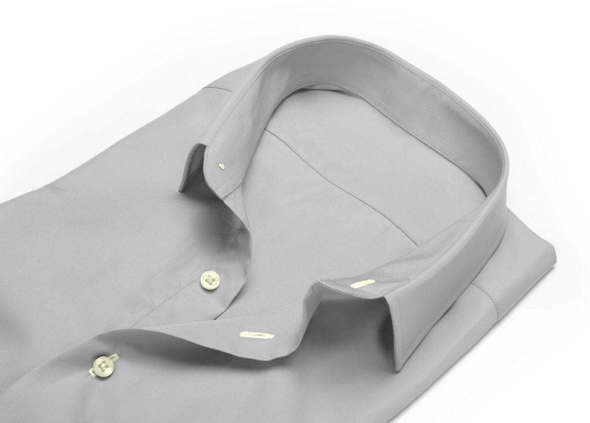 Chemise Mariage à gorge cachée