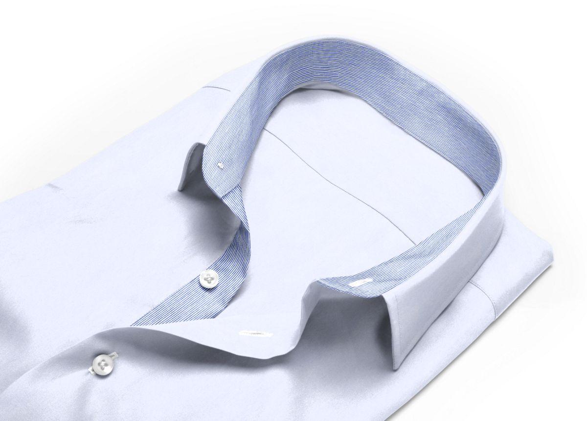 Chemise Petit col classique Blanc popeline
