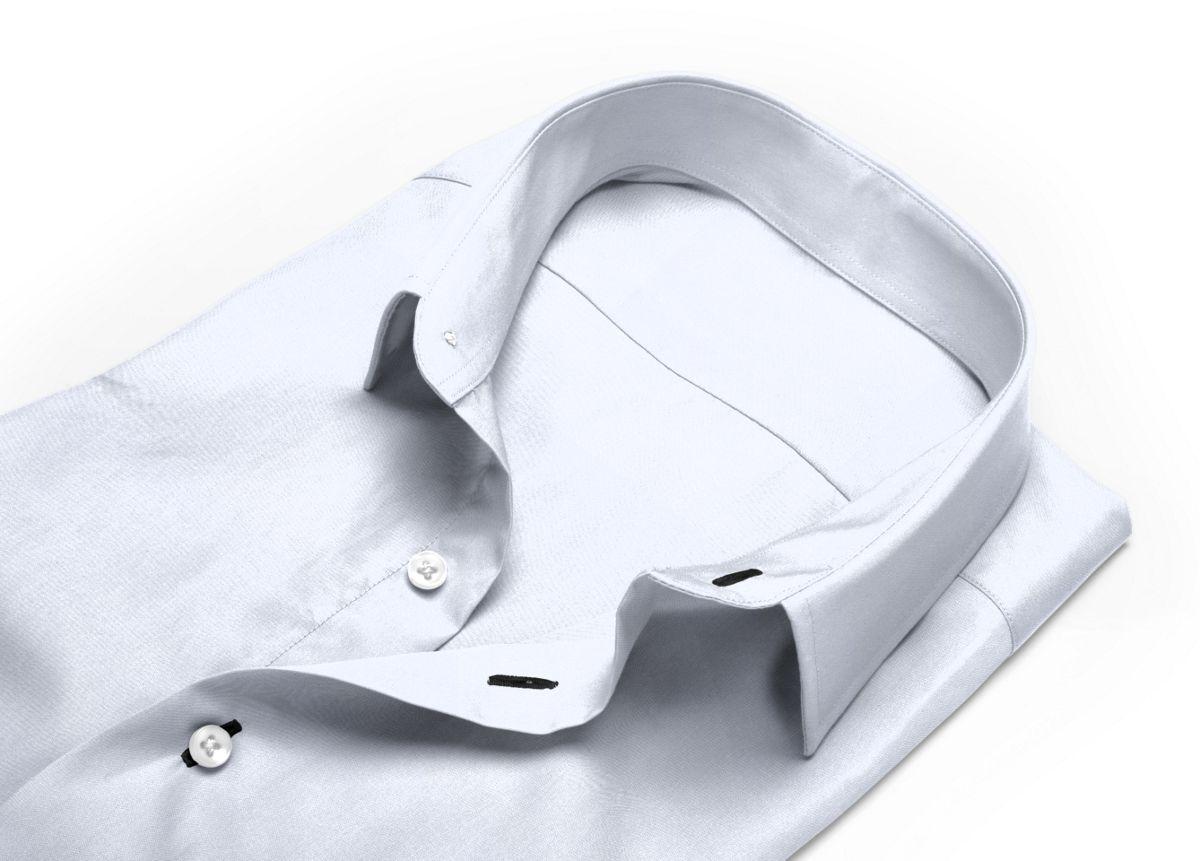 Chemise col cérémonie Blanc twill
