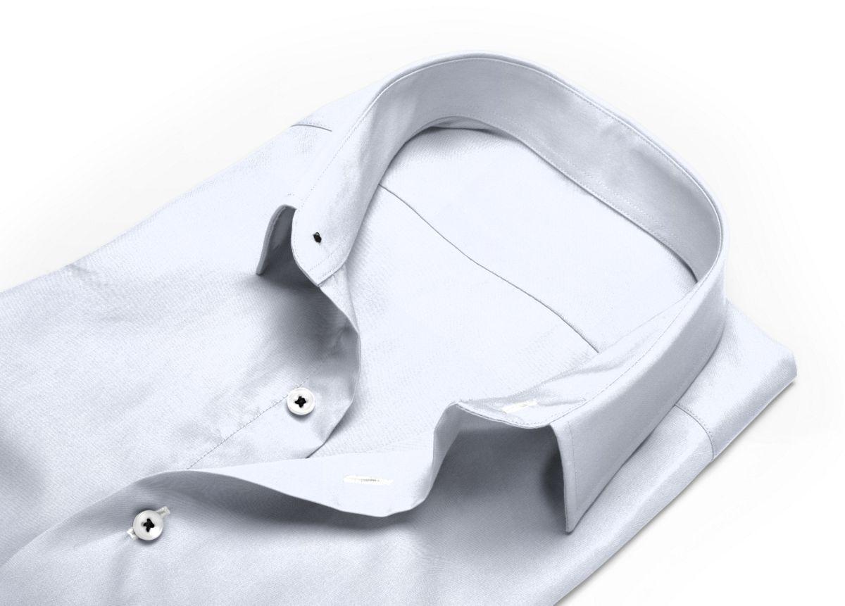 Chemise Grand col classique Blanc twill