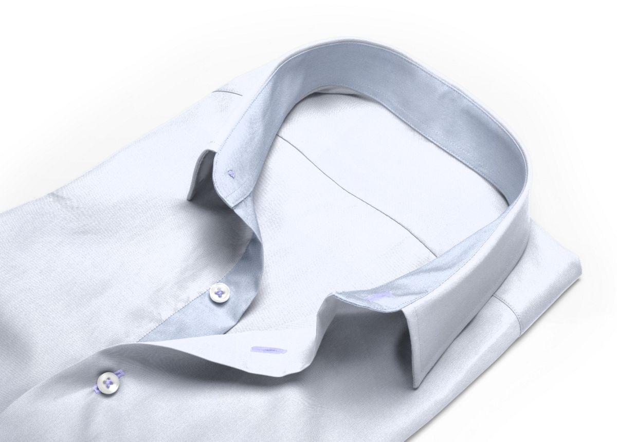 Chemise Petit col classique Blanc twill
