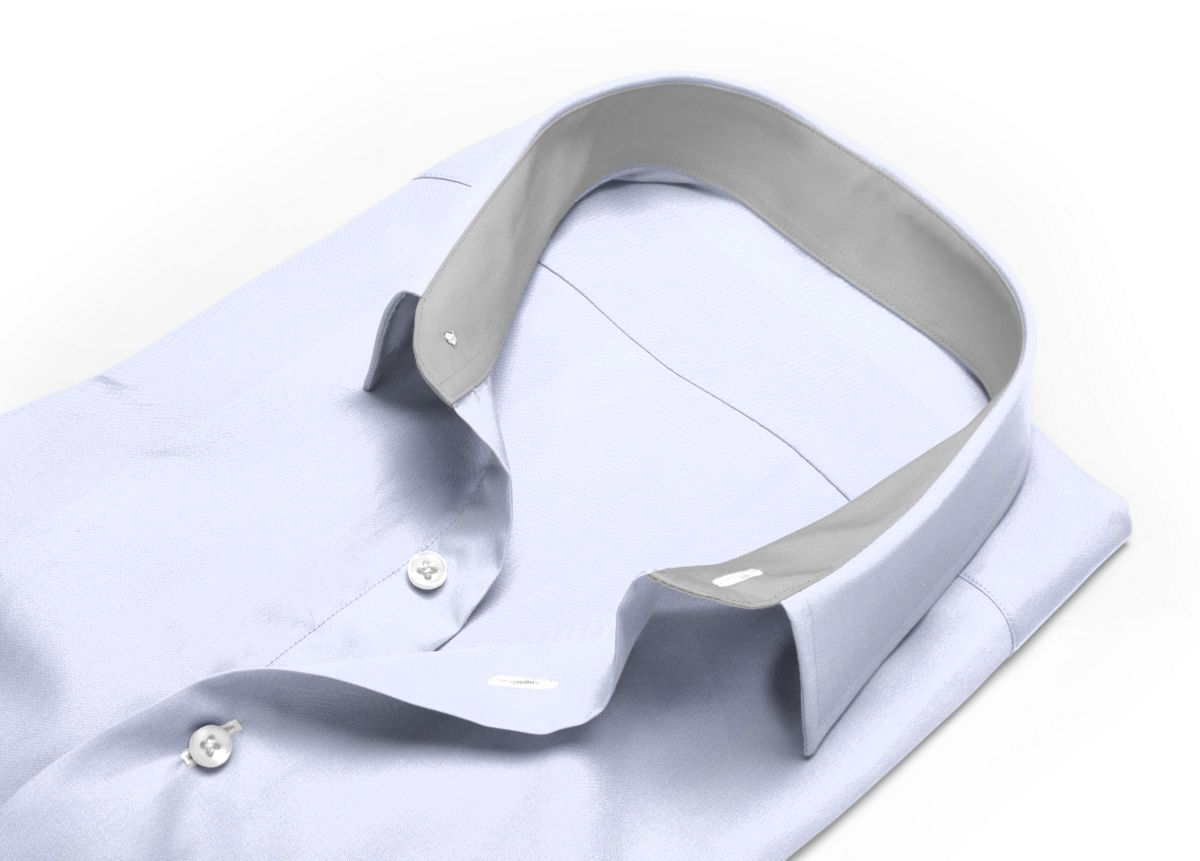 Chemise Col classique Blanc oxford