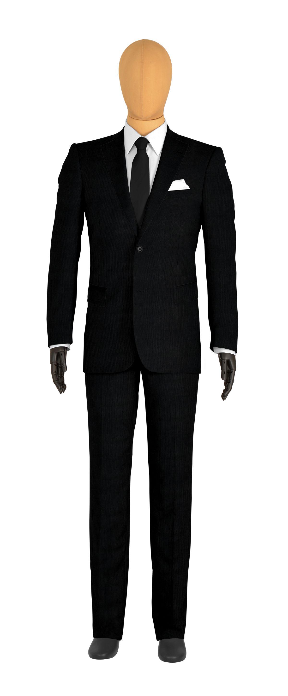 veste costume homme noir uni tailor corner. Black Bedroom Furniture Sets. Home Design Ideas