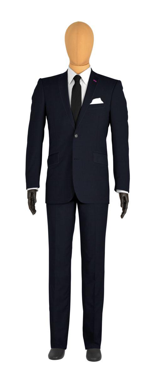 costume sur mesure bleu uni tailor corner. Black Bedroom Furniture Sets. Home Design Ideas