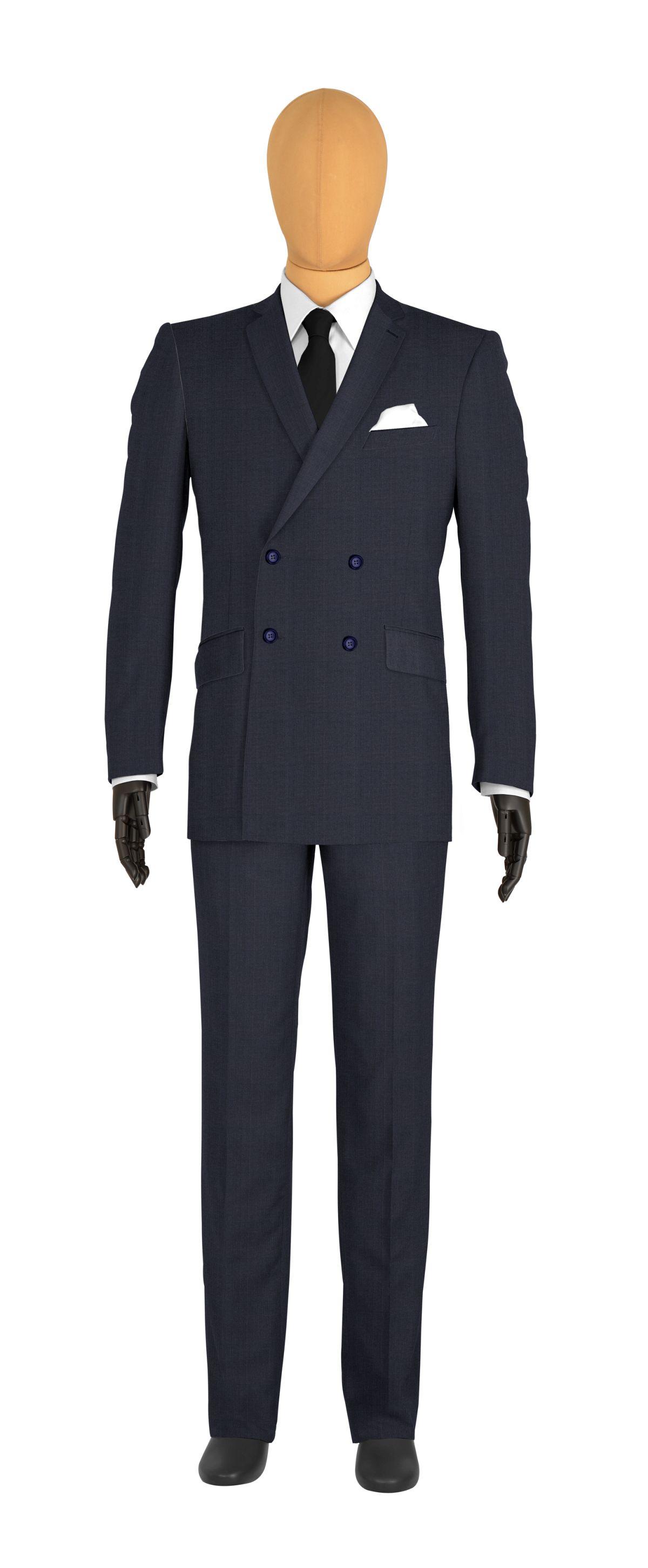 Costume sur mesure bleu carreaux tailor corner for Veste a carreaux homme