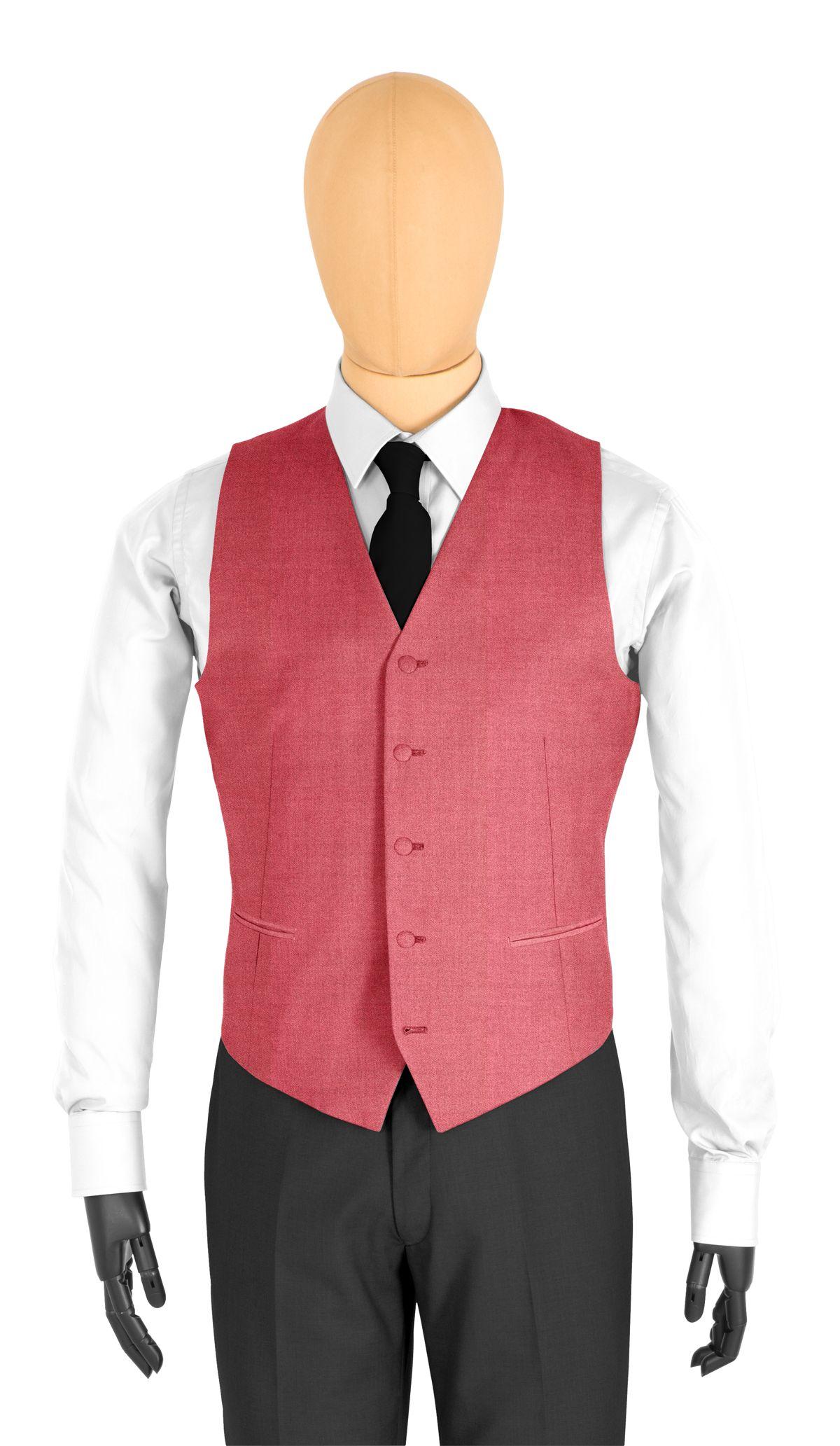 gilet de costume rouge uni tailor corner. Black Bedroom Furniture Sets. Home Design Ideas