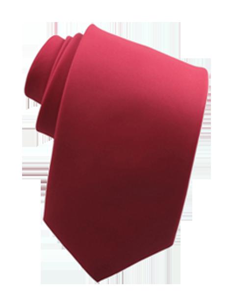Cravate rose foncé