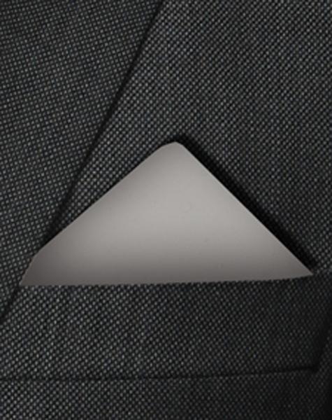 Pochette gris médian