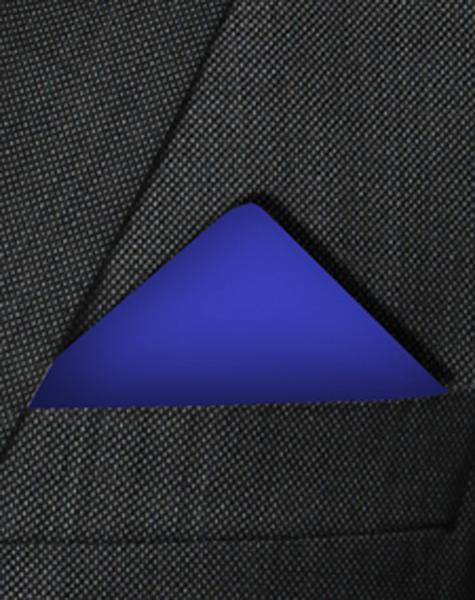 Pochette bleu roi