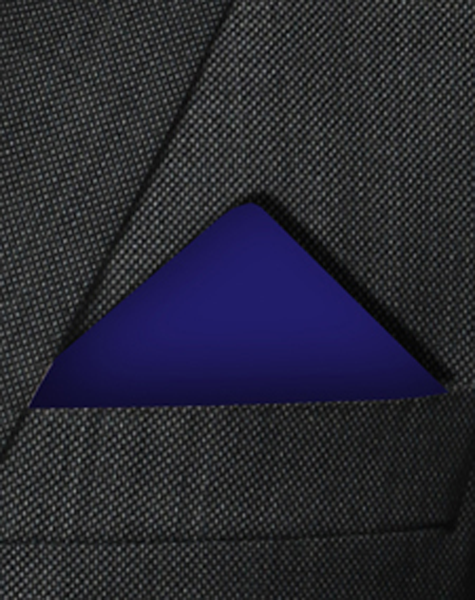 Pochette bleu foncé