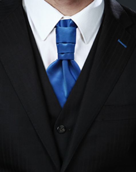 Cravalière bleu roi