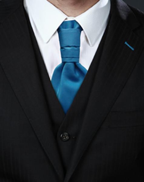 Cravalière bleu turquoise