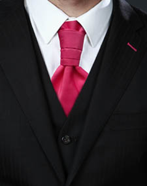Cravalière rose foncé