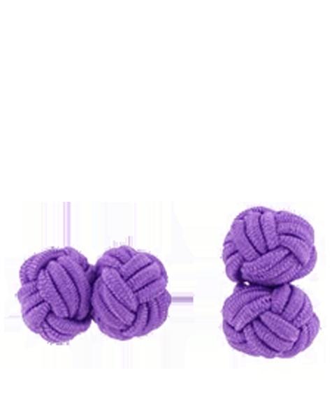 Boutons de manchettes violets