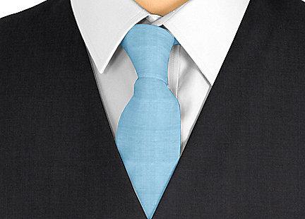 Cravate Turquoise en soie